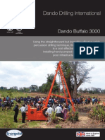 Dando Buffalo 3000 (Dando Drilling Indonesia)