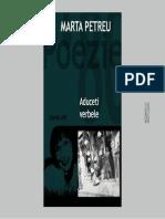 Marta Petreu Aduceti verbele