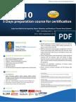 API_510- 5 Days Preparation Course for Certification