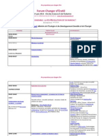 Programme FCE14