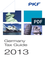 Germany Pkf Tax Guide 2013