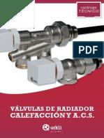 Catalogo Calefaccion y Acs - Valvula de Radiador