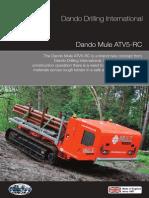 Dando Mule Track Carrier (Dando Drilling Indonesia)