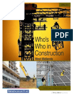 Who's Who Construction