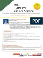 API 579 Fitness for Service