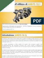 Appunti Esercitazioni Guida Ansys 12