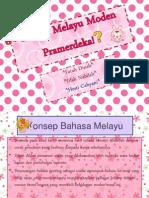 BM (Bahasa Melayu Moden)