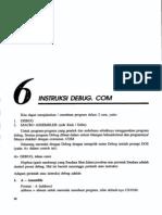 Bab6-Instruksi Debug Com