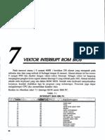 Bab7-Vektor Interrupt Rom Bios