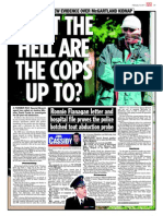 Martin McGartland, former undercover agent, was kidnapped by PIRA. and the Police Service of Northern Ireland (PSNI) - DI Karen Baxter, the PPS (on orders from MI5) continue to cover-up to protect IRA and the convicted terrorists involved. Compelling evidence is being concealed by bent, corrupt PSNI cops