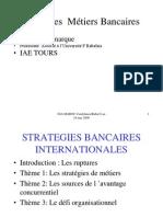1--Stratégie Bancaire Métiers