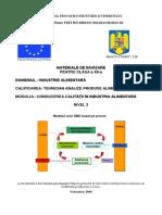175292633 Conducerea Calitatii in Industria Alimentara Auxiliar Curricular