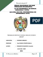 ANÁLISIS  Y DISEÑO DE COLUMNAS