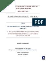 Reformas Del Bachillerato