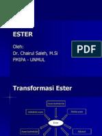 Kimia Organik 11 - Ester