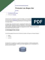 Formatage DisqDur.doc