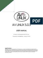 Av 503 Manual