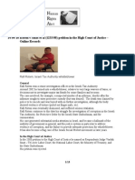 "2008-04-08 Rotem v Samet et al (1233/08) petition in the High Court of Justice – Online Records // רותם נ סאמט ואח' - (1233/08)  - עתירה לבג""ץ - כתבים מקוונים"