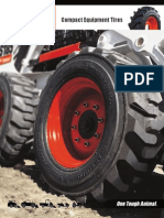 Compact Equipment Tire Brochure