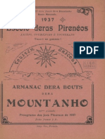Armanac dera Bouts dera Mountanho. - Annado 33, 1937