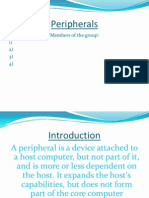 Peripherals of a Computer