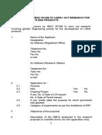 Biosafety Proformas 2