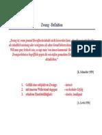 Vorlesung-Klinische Psychologie Zwang_05.04.06