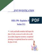 Tajuk 5 _Jabatan Keselamatan Dan Kesihatan Pekerjaan( Prosedur Penyiasatan Di Tempat Kerja)