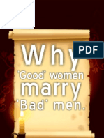 WHY GOOD WOMEN MARRY BAD MEN- Storyline