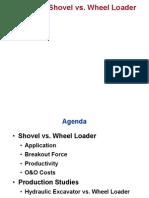 Shovel vs Wheel Loader