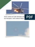 Kachin Clashes Kill 5000 Tatmadaw Soldiers