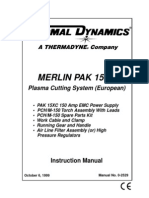 Merlin Pak 15XC European Instruction Manual