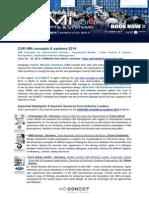 Top Stories @ CAR HMi Concepts & Systems 2014