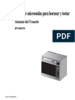 Manual Del Usuario Horno Microondas Samsung MT1099STD