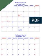 Planificador Clase 9A 2009 -2010