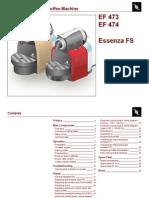 Krups Nespresso Essenza Fs Ef473 Ef474