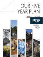 Our Five Year Plan 2014