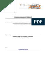 Relacion Humana Intraorganizacional y TICs