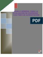 Modelo Evaluación Carreras con fines de Acreditación
