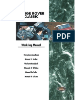 Ranger Over Classic Workshop Manual 1995