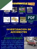 Investigacion en Accidente de Transito