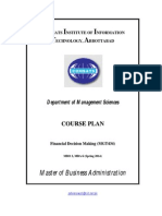 1. Financial Decision Making _Course Outline