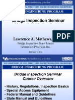 Bridge Inspection Overview by Larry Mathews