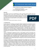 Levamentamento de Ações de Governo Móvel no Brasil