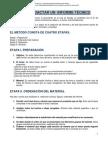 UNAM (SF) Como redactar un informe técnico