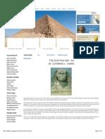 """Egypt- The Egyptian God, Hu"""