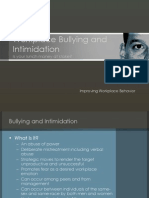 Bullying and Intimidation
