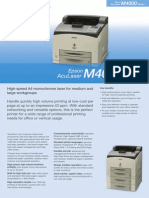Epson AcuLaser M4000DN Brochures 1