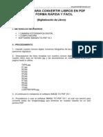 Manual Para Convertir Libros en PDF de Forma Facil y Rapida