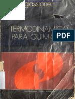 Glasstone - Termodinámica para Químicos parte 1